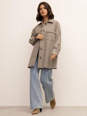 Пальто - рубашка R082/langu