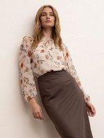 Блузка с цветочным принтом B2626/firele