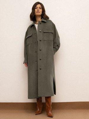 Пальто - рубашка R076/aken
