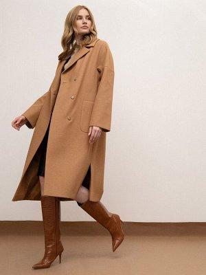 Пальто с поясом R084/tiner,48