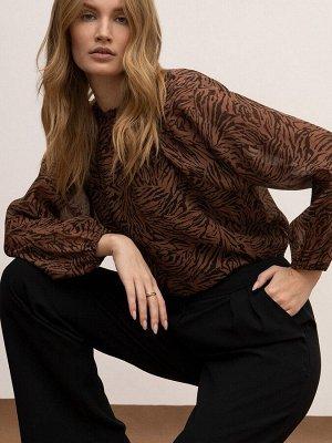 Блузка с принтом B2626/tint
