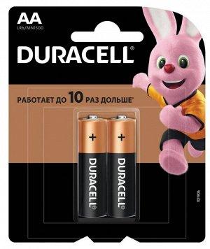 DURACELL Basic AA Батарейки алкалиновые 1.5V LR6 2шт