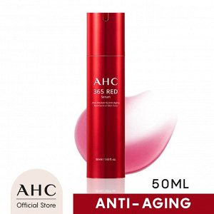 Акция!!! Сыворотка для лица с экстрактом гибискуса, 50 мл AHC 365 Red Serum