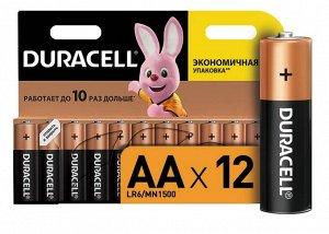 DURACELL Basic AA Батарейки алкалиновые 1.5V LR6 12шт
