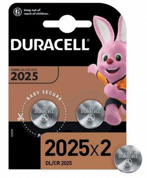 DURACELL Батарейка 2025 2шт