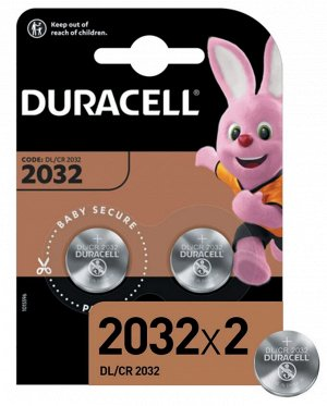 DURACELL Батарейка 2032 2шт