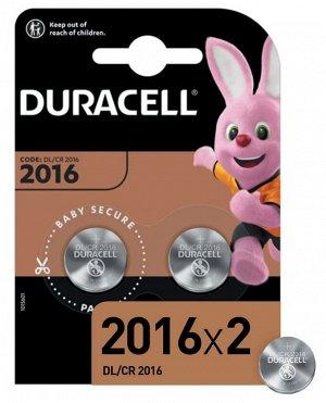 DURACELL Батарейка 2016 2шт