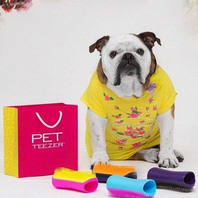 Tangle Teezer расчески для укладки феном — Pet Teezer расческа для собак и кошек (Великобритания)