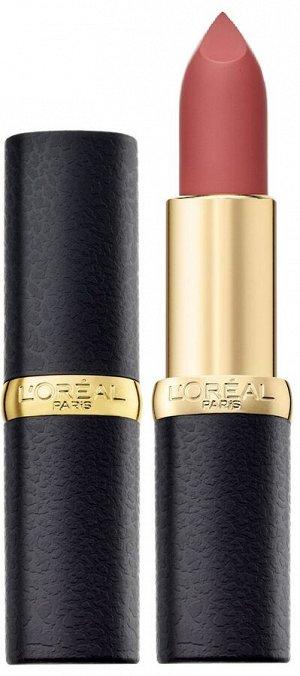 """L'Oreal Paris Матовая губная помада """"Color Riche, MatteAddiction"""", оттенок 640, Чувственный пудровый, 4.8 гр"""