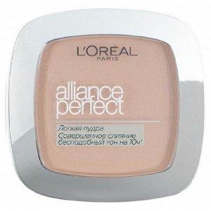 Loreal paris легкая пудра «alliance perfect совершенное слияние», выравнивающая и увлажняющая  R3 Бежевый розовый