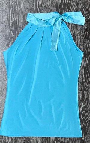 Блуза женская голубая