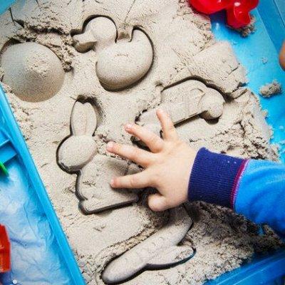 HATBER и ко — канцелярия, что надо — ЮНЛАНДИЯ-Песок для лепки