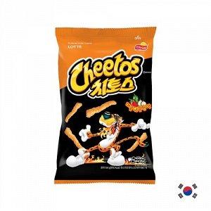 Korean Cheetos Sweet & Spicy 82g - Корейские Читос сладко-острые