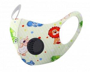 Детская защитная маска с  клапаном F9183