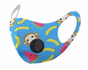 Детская защитная маска с  клапаном F9185