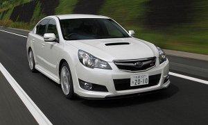 Ковры салонные LUX 3D Subaru Legacy/Outback МКПП (2009 - 2014) правый руль