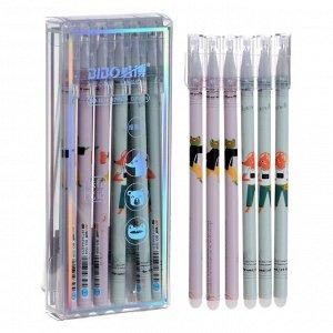 Ручка гелевая ПИШИ-СТИРАЙ стержень синий 0,5мм МИКС лиса/лягушка/мишка 7007842