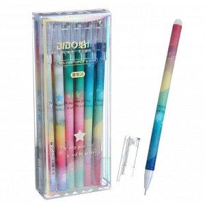 Ручка гелевая ПИШИ-СТИРАЙ 0,5мм стержень синий, корпус МИКС (штрихкод на штуке) Звезда 7010612
