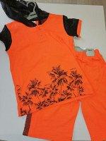 Комплект для мальчика оранжевый