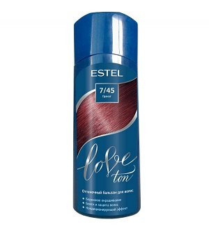 Оттеночный бальзам для волос ESTEL LOVE TON 7/45 Гранат
