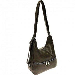 Функциональная сумка-рюкзак Malekula из качественной матовой эко-кожи цвета латте.