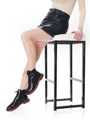 Ботинки Страна производитель: Китай Размер женской обуви x: 35 Полнота обуви: Тип «F» или «Fx» Вид обуви: Ботинки Сезон: Весна/осень Материал верха: Натуральная кожа Материал подкладки: Текстиль Каблу