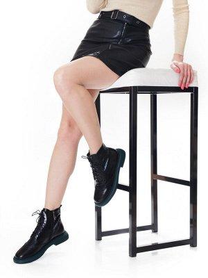 Ботинки Страна производитель: Китай Размер женской обуви x: 37 Полнота обуви: Тип «F» или «Fx» Вид обуви: Ботинки Сезон: Весна/осень Материал верха: Натуральная кожа Материал подкладки: Текстиль Каблу