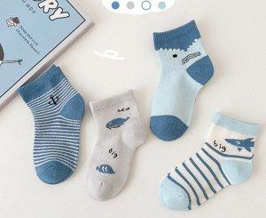 Носки детские/набор 4 пары