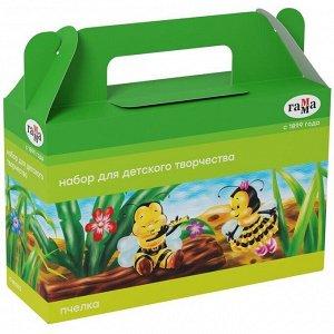 """Набор для детского творчества Гамма """"Пчелка"""", 8 предметов, в подарочной коробке"""