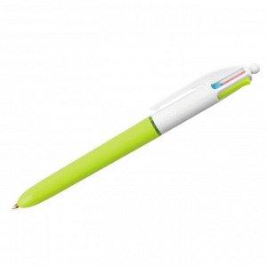 """Ручка шариковая автоматическая Bic """"4Colors"""" 4цв., 1,0мм, пастель"""