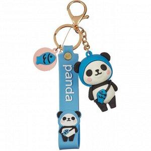 Брелок Панда синий 6 см