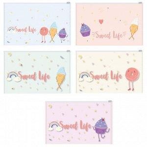 Папка-конверт на молнии Z-L Attache Selection Sweet life А5 200м...