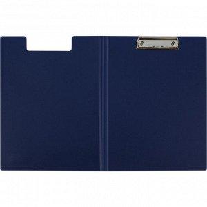 Папка-планшет Attache A4 синий с верх. створкой