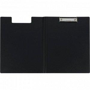 Папка-планшет Attache A4 черный с верх. створкой