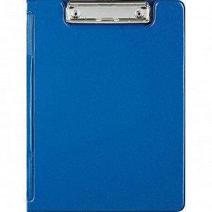 Папка-планшет Attache A5 с верх.створкой, синий Россия