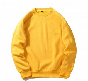 Мужской свитшот, цвет желтый