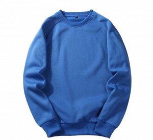Мужской свитшот, цвет голубой