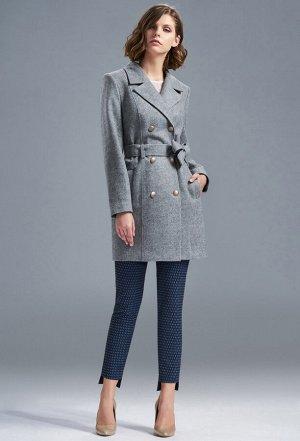 Пальто Solei 3272 серый