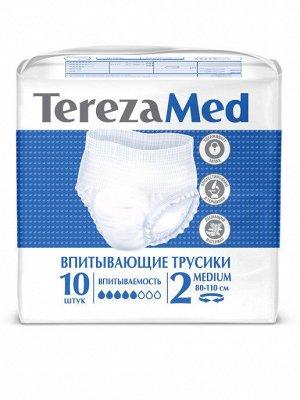 TEREZA MED  Трусы подгузники для взрос Medium № 2, 10 шт.