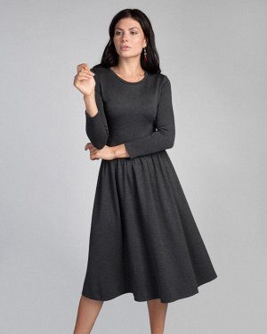 Платье жен. (002036)серый меланж