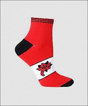 Носки детские красный