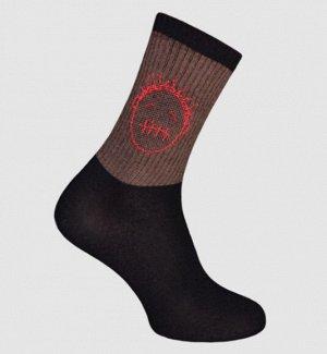 Носки мужские черный Crazy Sock