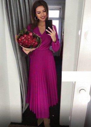 Платье Ткань барби, ремень в комплекте ОГ 100 см, ОТ 70 см, длина 116 см