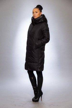 Женская куртка зимняя 9721 черный