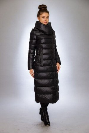 Женская куртка зимняя F1333 черный