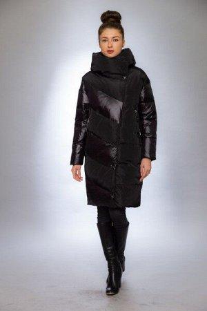 Женская куртка зимняя 9817 черный