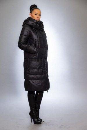 Женская куртка зимняя 9587 черный