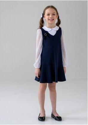 Сарафан школьный Стейси, цвет черный