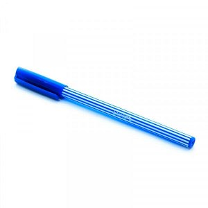 """Ручка шариковая Luxor """"Super 1"""" синяя, 0,6мм, корпус ассорти 31120/50BX арт. 31120"""