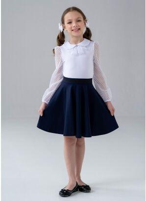 Школьная юбка Сола, цвет черный